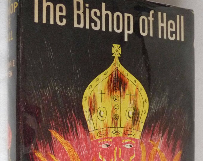 Bishop of Hell & Other Stories by Marjorie Bowen 1949 Bodley Head 1st Edition Hardcover HC w/ Dust Jacket DJ Short Stories
