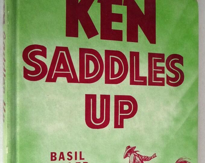 Ken Saddles Up 1955 by Basil Miller Zondervan Publisher - Juvenile Youth YA Christian Western Fiction Novel