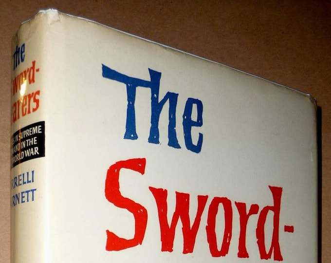 Swordbearers: Studies in Supreme Command in the First World War 1st Edition Hardcover HC w/ Dust Jacket DJ 1963 History World War I WWI