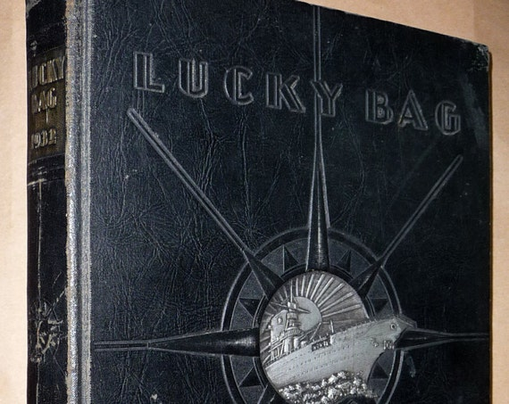 United States Naval Academy Yearbook (Annual) 1932 - The Lucky Bag Annapolis MD Military Navy