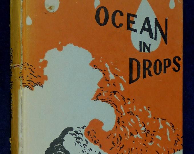 Ocean in Drops 1970 by Muni Nathmal - Jaina Dharma Jainism 1st Edition India Rare Acarya (Acharya) Mahaprajna