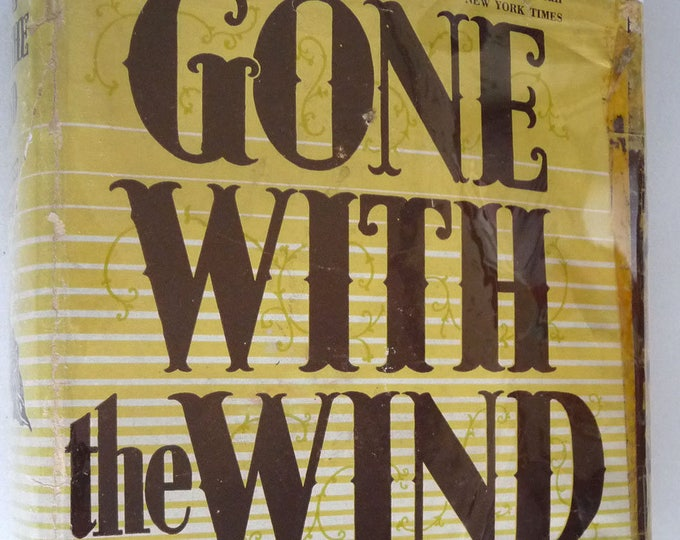 Gone With the Wind 1940 Margaret Mitchell Earlier Printing Hard Cover HC Dust Jacket DJ Classic Fiction Vintage