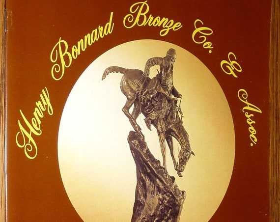 Henry Bonnard Bronze Co. & Associates Monumental New Releases 1996 Art Sculpture