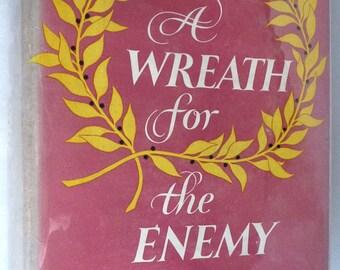 A Wreath for the Enemy by Pamela Frankau 1954 1st American Edition Hardcover HC w/ Dust Jacket DJ Harper
