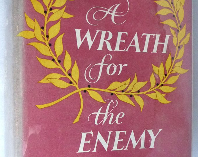 A Wreath for the Enemy by Pamela Frankau 1954 1st American Edition Hardcover HC w/ Dust Jacket DJ Harper