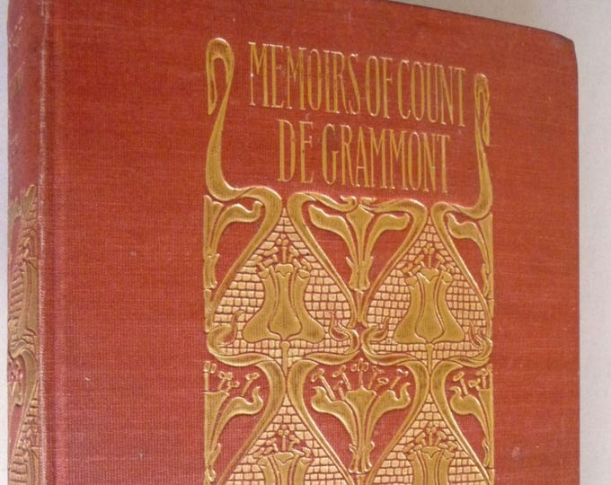 Memoirs of Count Grammont Ca. 1900 by Anthony Hamilton w/ Notes by Sir Walter Scott - Limited/Numbered Edition Merrill & Baker