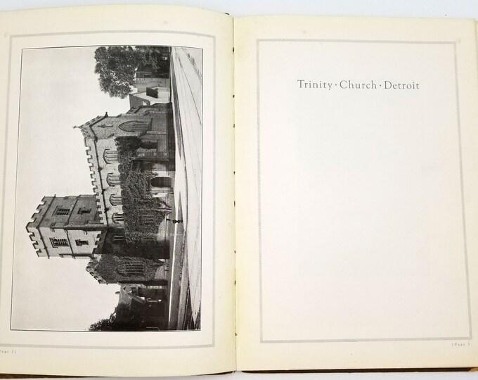 Trinity Church Detroit 1915 by James E. Scripps Michigan - Episcopal Church - English Gothic Revival