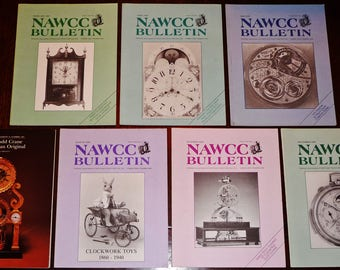 Bulletin of the National Association of Watch and Clock Collectors (NAWCC) 1987 Full Year + Supplement 16