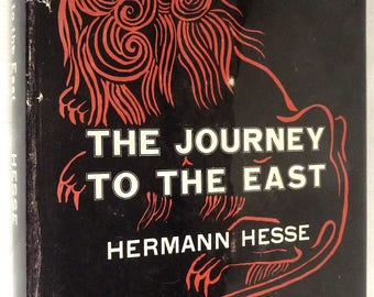 The Journey to the East 1968 by Hermann Hesse 2nd Printing Hardcover HC w/ Dust Jacket DJ Spiritual Journey Fcition Novel - Farrar Pub.