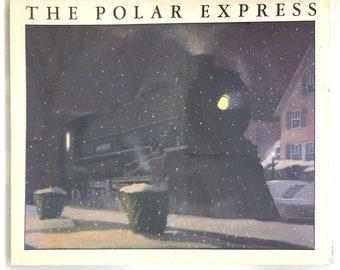 The Polar Express 1st Edition in Dust Jacket CHRIS VAN ALLSBURG 1985 Caldecott Medal