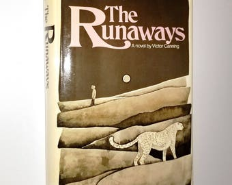 The Runaways by Victor Canning - Hardcover HC w/ Dust Jacket DJ 1972 William Morrow Youth YA Fiction