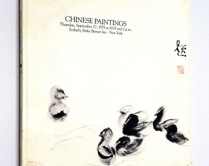 Chinese Paintings Thursday, September 27, 1979 Sale #4277 Sotheby Parke Bernet - Auction Catalog - New York