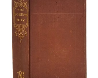 The Forest Boy: A Sketch of the Life of Abraham Lincoln by Z.A. Mudge 1867 Hardcover HC Biography Childhood President