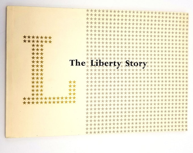 The Liberty Story James Laver Soft Cover 1959 History Department Store London - Fashion Interior Decor Design