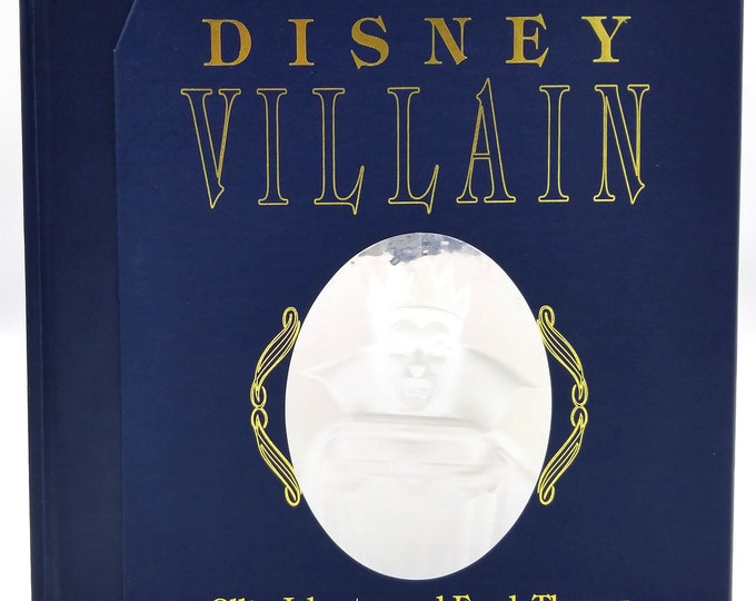 The Disney Villain by Ollie Johnson & Frank Thomas 1993 Signed Numbered Collector's Edition Hardcover HC w/ Slipcase - Hyperion