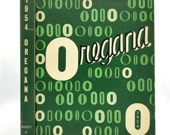 University of Oregon Yearbook (Annual) 1954 - Oregana - Eugene, OR Lane County
