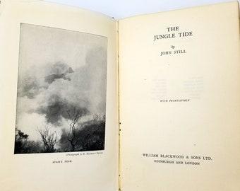 Vintage Travel Sri Lanka (Ceylon): The Jungle Tide by John Still Hardcover 1934 William Blackwood & Sons