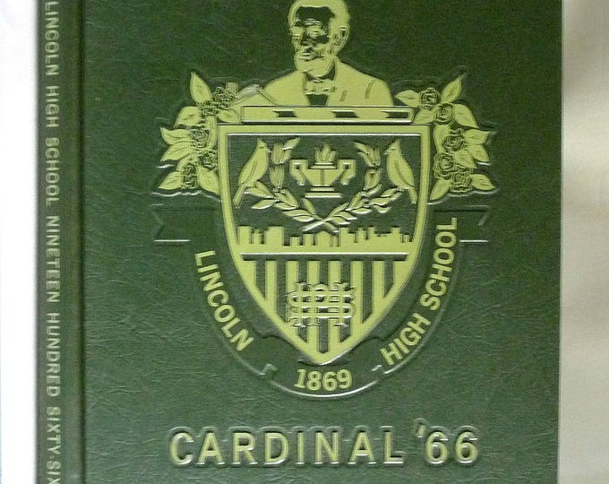Lincoln High School Yearbook (Annual) 1966 - Cardinal - Portland, Oregon OR - Multnomah County