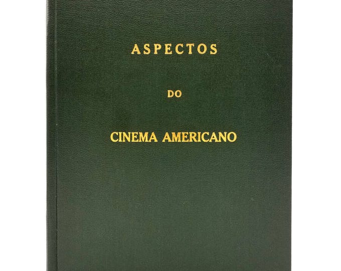 Aspectos do Cinema Americano Clube de Cinema do Rio de Janeiro 1964 - Signed Program - Presentation Copy - Portuguese
