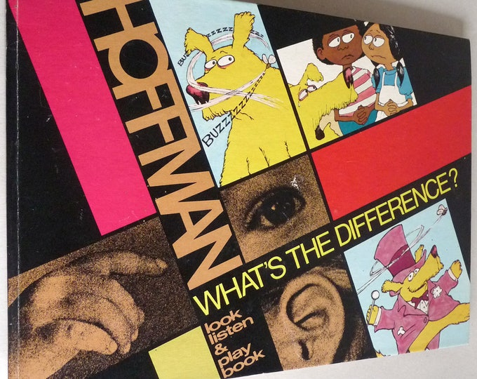 What's the Difference? Vinyl Record LP & Hardbound Book Set by Bruce Shelley Hoffman Information Systems 1974 Librosonic Program