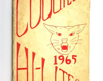 Coquille Junior High School Yearbook / Annual 1965 - Hi-Lites Coos County Oregon OR