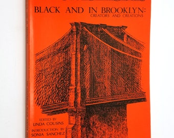 Black and In Brooklyn: Creators and Creations by Linda Cousins  1983 Paperback PB - African American Poetry Poems Verse