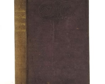 Seasons; to Which is Prefixed the Life of the Author by James Thompson Hardcover HC 1842 Poetry Verse