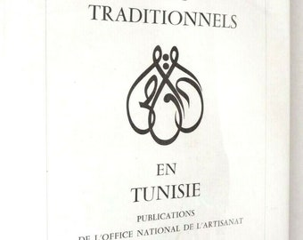 Arts Traditionnels en Tunisie 1st Edition in Dust Jacket 1967 by Jacques Revault - Traditional Arts - Handcrafts - Tunisia - French Language