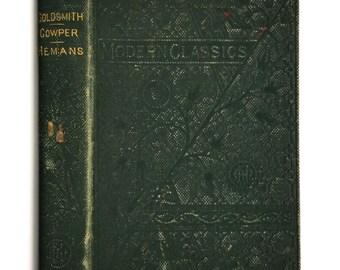 Houghton Mifflin Modern Classics #18 The Deserted Village & the Traveller Favorite Poems by Oliver Goldsmith William Cowper; Felicia Hemans