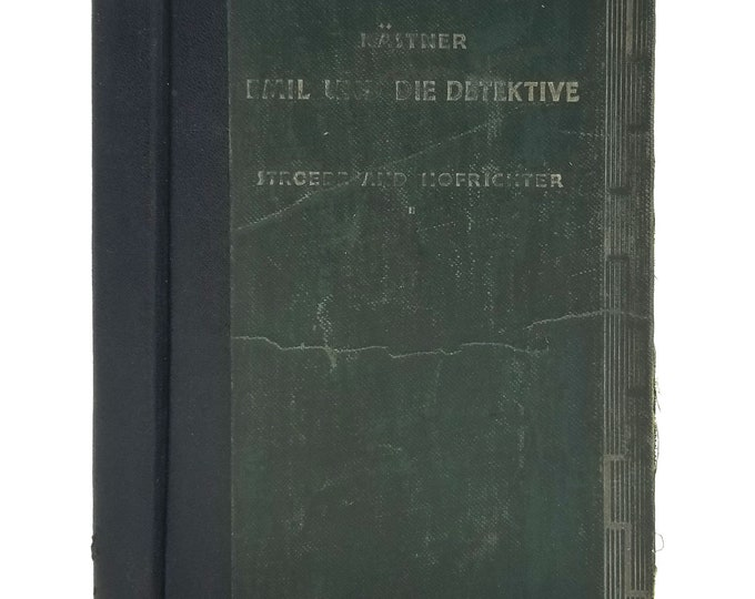 Emil und die Detektive by Erich Kastner Hardcover HC 1937 Henry Holt - German Language - School Text