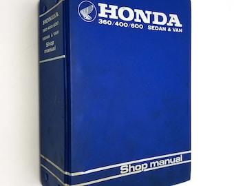 Honda 360/400/600 Sedan & Van Shop Manual 1969 Japanese Manufacturer Car Repair