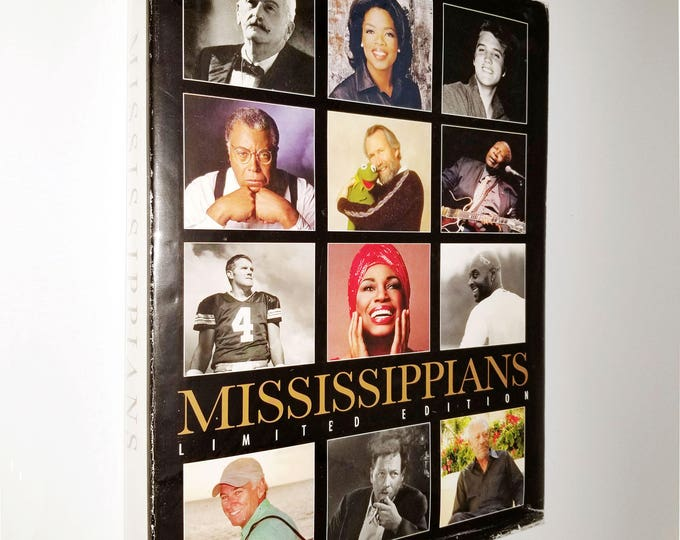 Mississippians edited by Neil White 2010 Nautilus Publishing - Limited 1st Edition Hardcover HC w/ Dust Jacket DJ - Biographies