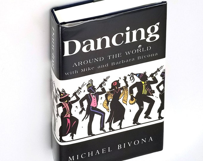 Dancing Around the World with Mike and Barbara Bivona Hardcover in Dust Jacket 2010 Ballroom Dancing Travel