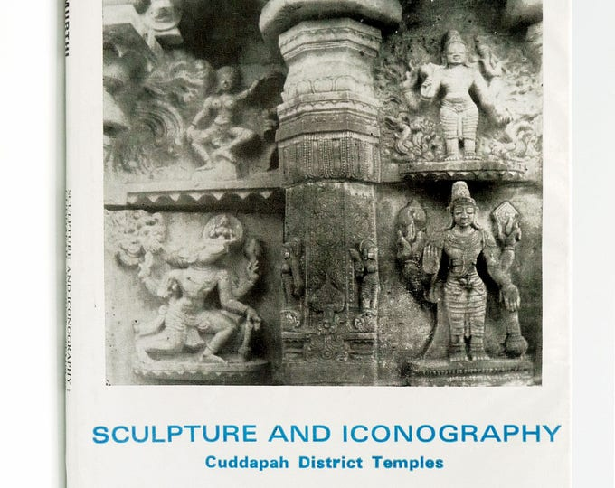 Sculpture and Iconography: Cuddapah District Temples 1990 by A. Gurumurthi - Hardcover HC w/ Dust Jacket DJ - Hindu Architecture