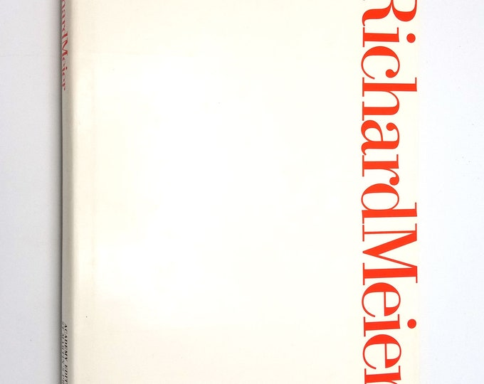 Richard Meier (Architectural Monographs) by Lisa J. Green 1990 Hardcover HC w/ Dust Jacket DJ - St. Martin's Press