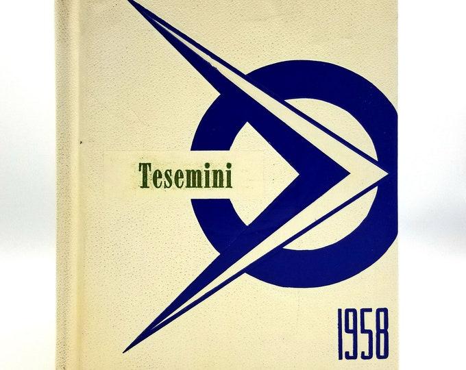 Spirit Lake High School Yearbook (Annual) 1958 - Tesemini - Kootenai County ID, Idaho