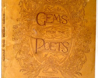 Gems from the Poets (Farm and Fireside Library, Number 182. April, 1900) The Crowell & Kirkpatrick Co. - Poetry, Poems, Verse - Antique