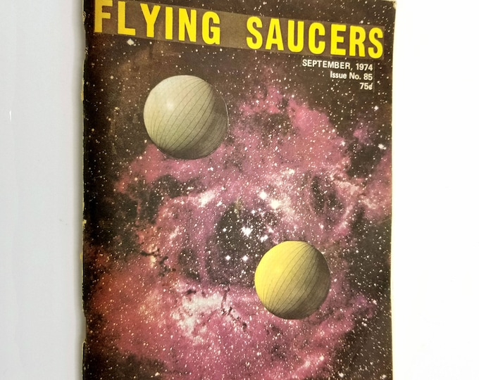 Flying Saucers Magazine September 1974 Issue No. 85 Palmer Publications - UFOs Extra Terrestrial Space