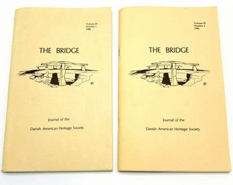 The Bridge: Journal of the Danish American Heritage Society Volume 9 (Nos. 1 & 2), 1986 Full Year