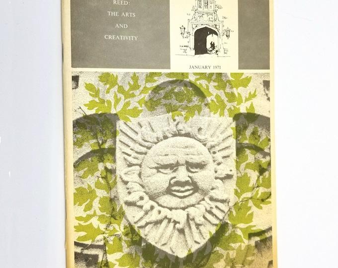 Reed College Sallyport January 1971 Volume 30 Number 1 Creative Arts Journal Portland, Oregon OR