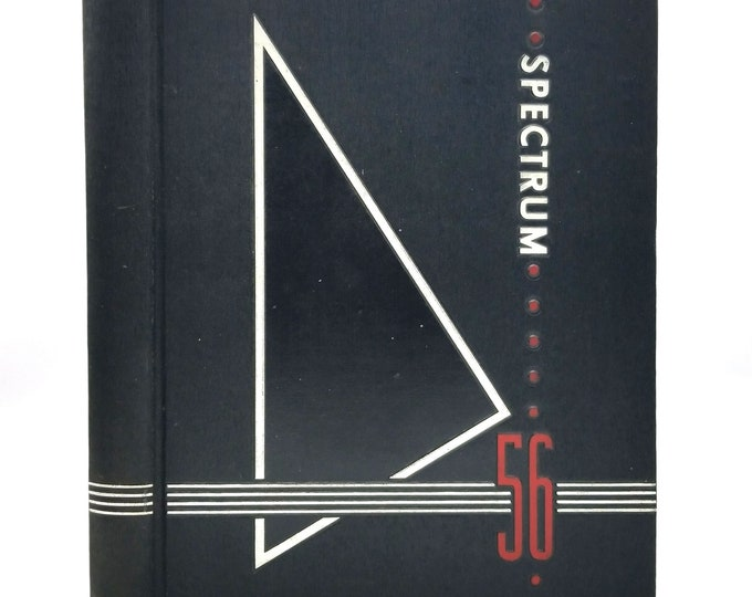 Jefferson High School Yearbook (Annual) 1956 - Spectrum - Portland, Oregon OR - Multnomah County