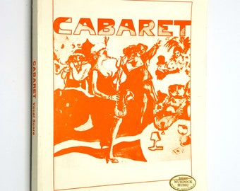Cabaret Vocal Score by John Kander & Fred Ebb 1968 Hal Leonard - Musical - Sheet Music Song Book