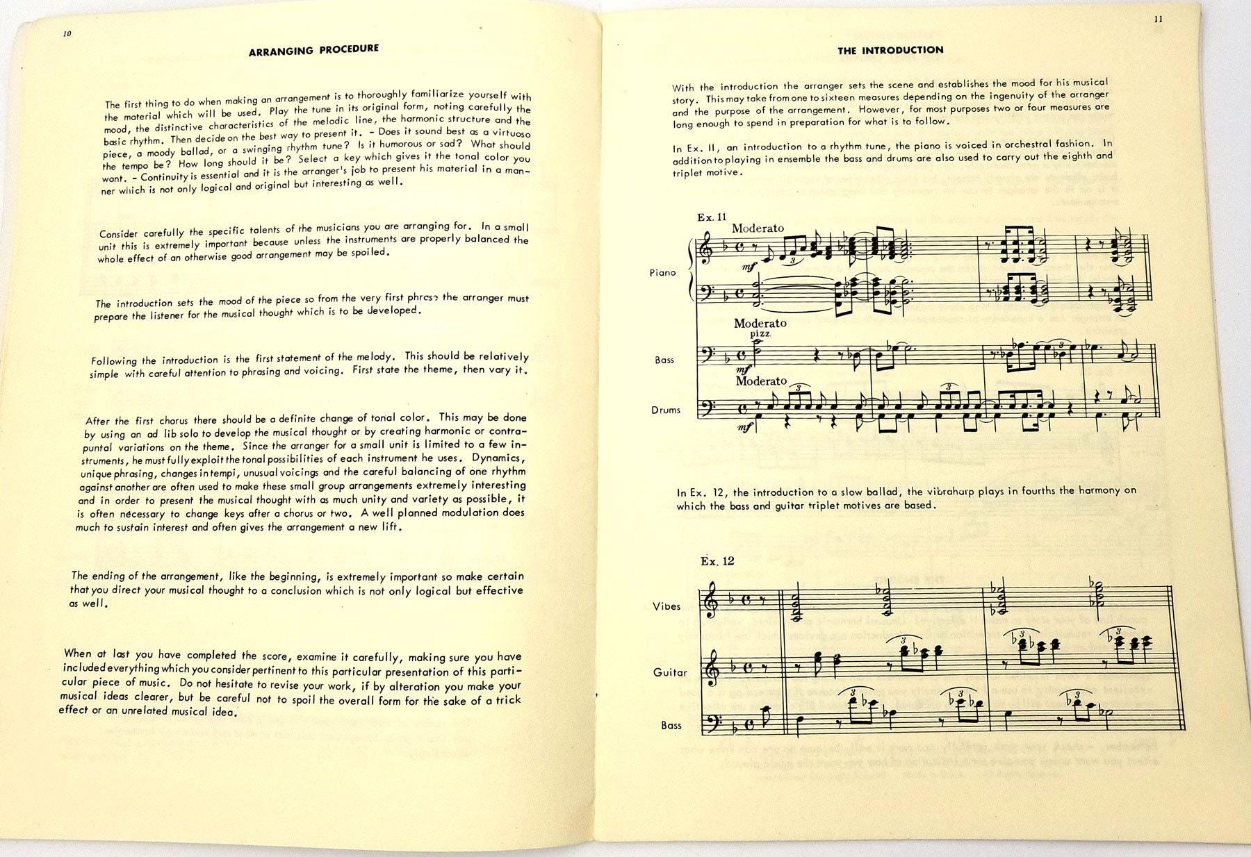 Combo Arranging: How to Arrange For Jazz Trios, Quartets and