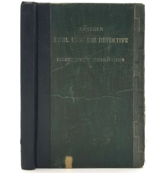 Emil und die Detektive by Erich Kastner Hardcover HC 1937 Henry Holt - German Language - School Text