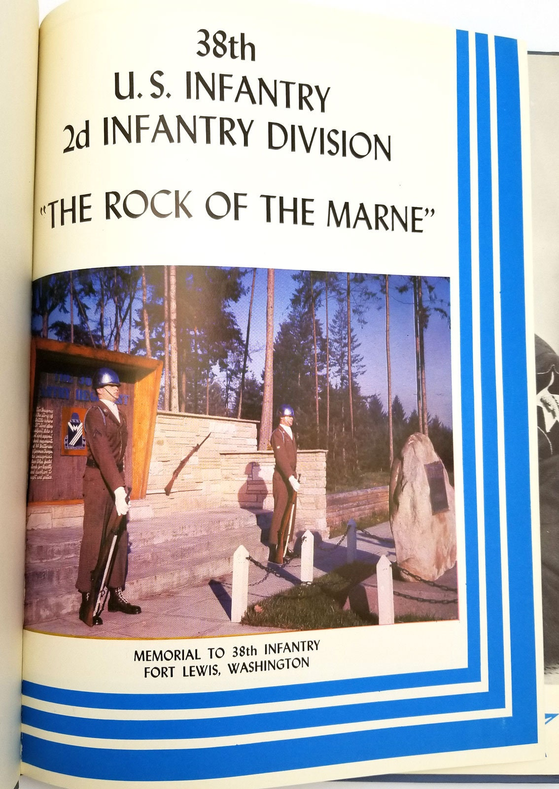 38th Infantry Regiment 2d Infantry Division The Rock of the Marne