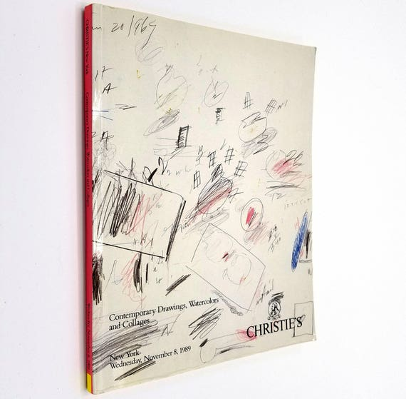 Contemporary Drawings, Watercolors and Collages - Christies Wednesday, November 8, 1989 Auction Catalog