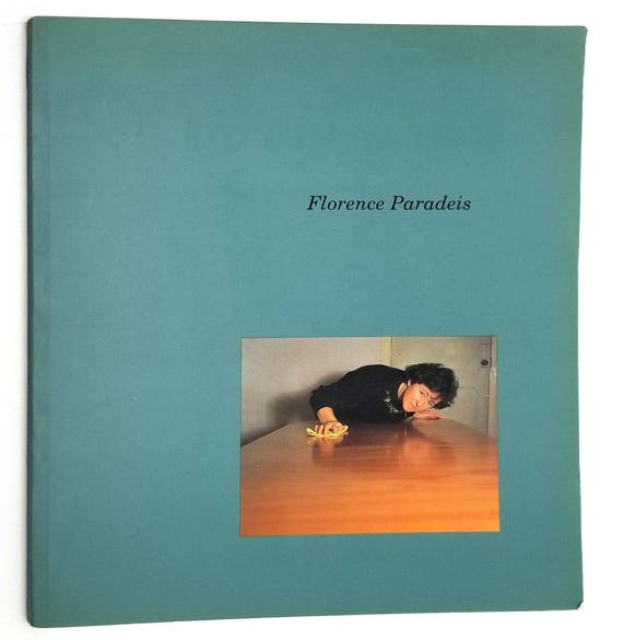 Florence Paradeis  1993 Artist Catalog Art Photography Limoges