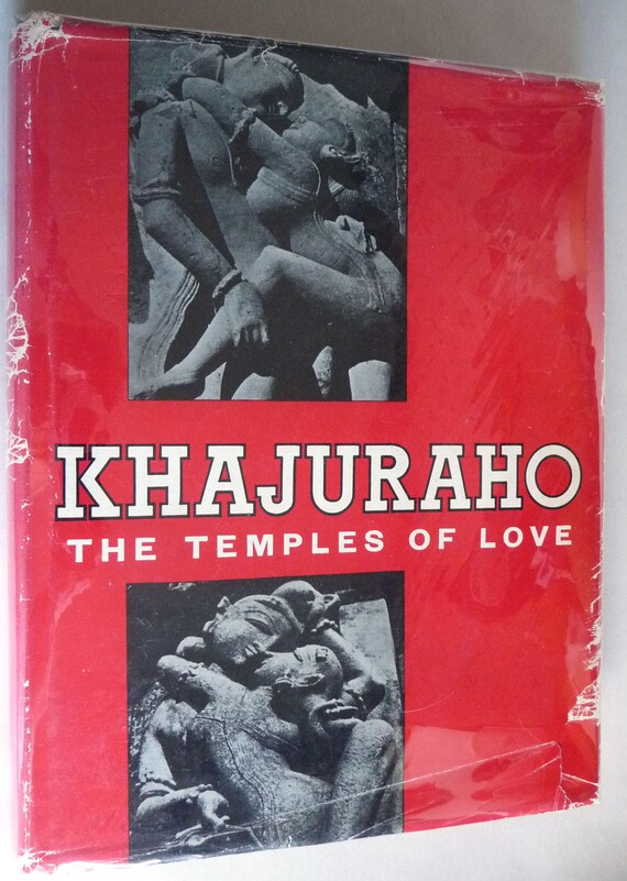 Khajuraho: A Study in the Cultural Conditions of Chandella Society 1967 by Vidya Prakash - 1st Edition Hardcover HC w/ Dust Jacket DJ