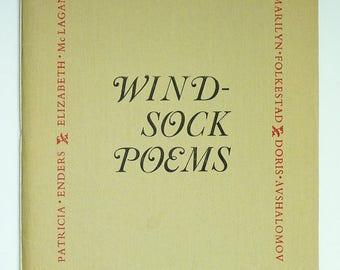 Wind-Sock Poems 1981 Howlet Press Women's Poetry Anthology Portland Oregon - Poems Verse - Limited Rare