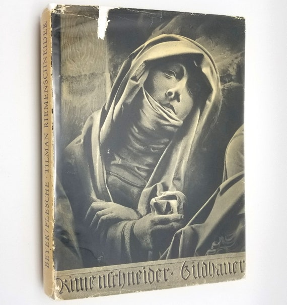 Tilman Riemenschneider by Herman Flesche & Gunther Beyer Hardcover HC w/ Dust Jacket DJ 1967 15th Century Sculptor - German Language